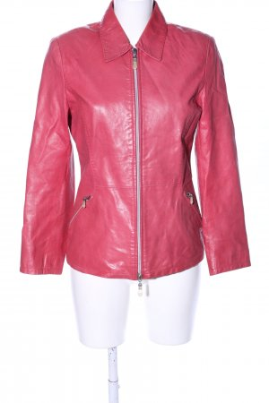 Leather Sound Lederjacke pink Casual-Look