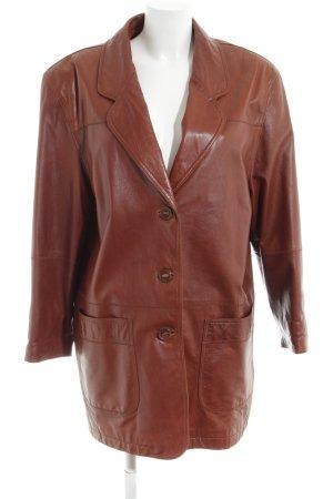 Leather Sound Lederjacke bronzefarben Casual-Look