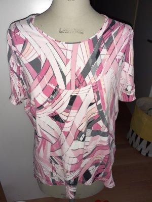 BARBARA LEBEK T-shirt grigio-rosa chiaro