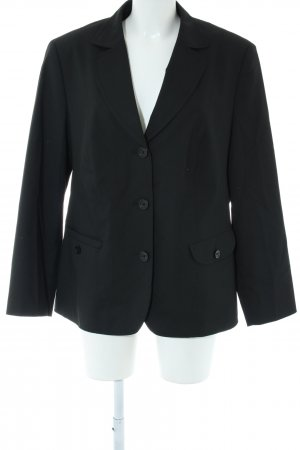 Lebek Kurz-Blazer schwarz Business-Look