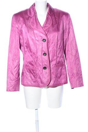 Lebek Long-Blazer pink Casual-Look