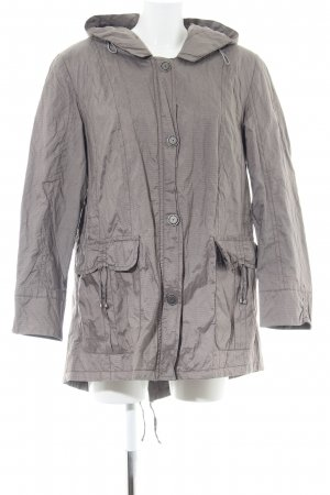 Lebek Outdoorjacke hellgrau Casual-Look