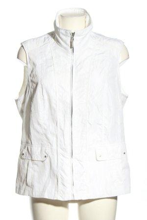 Lebek Chaleco deportivo blanco look casual