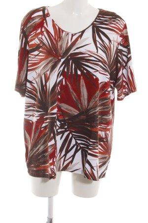 Lebek T-Shirt Blumenmuster Casual-Look