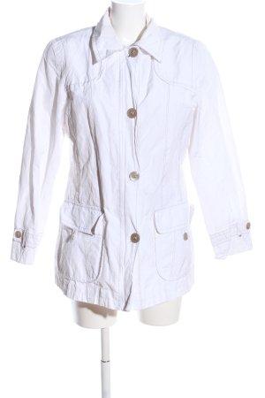 Lebek Kurtka przejściowa biały W stylu casual