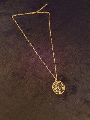 Naszyjnik złoto