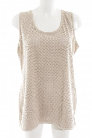 Lecomte Basic Top creme Casual-Look