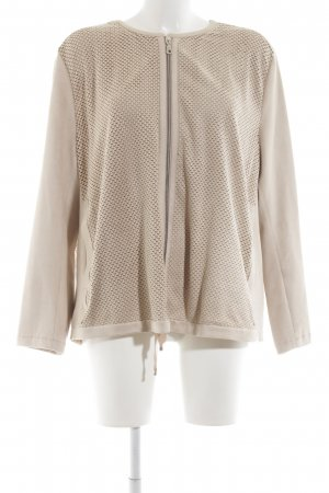Lecomte Collegejacke creme Casual-Look
