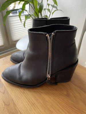 Leder ankle Boots