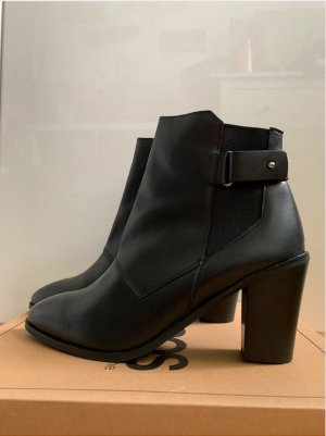 Asos Heel Boots black leather