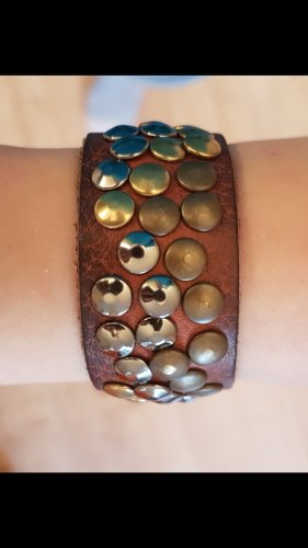 no name Bracelet en cuir multicolore