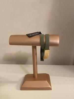 Leder Armband Sence Copenhagen Khaki NEU