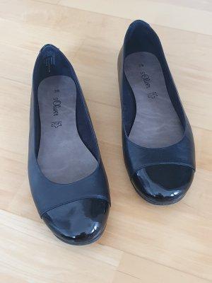 s.Oliver Classic Ballet Flats black