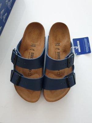 Birkenstock Sandalo comodo blu scuro
