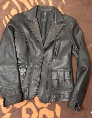 Leather Blazer multicolored leather