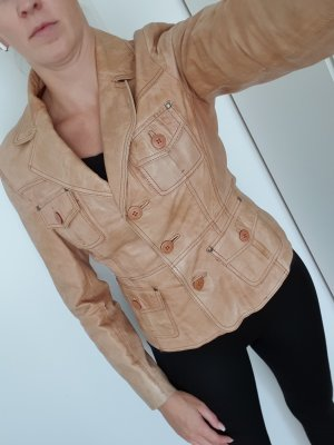 Chevirex Leather Jacket multicolored