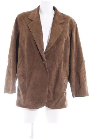 Leather Blazer light brown vintage look