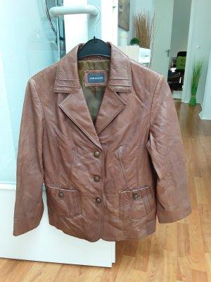Adagio Leather Jacket light brown