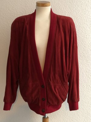 Aigner Blouson red leather