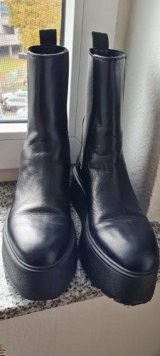 Leder Boots 39 Zara
