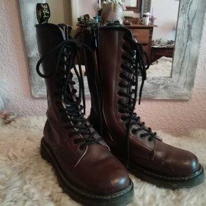 Aanrijg laarzen bruin
