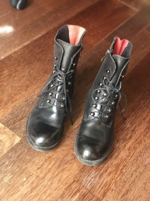 CCC Low boot noir