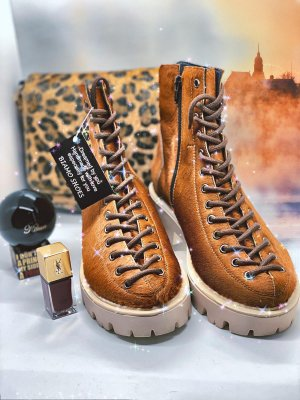 Biamo Handmade Ankle Boots camel
