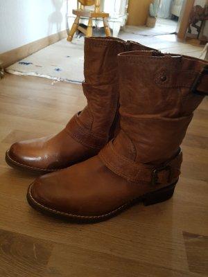 Landrover Botas de tobillo marrón claro