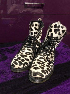 Leder Boots mit Fell