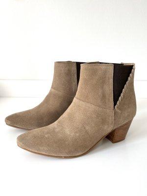 Leder-Boots/Stiefeletten von Esprit