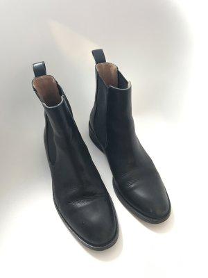 Vagabond Chelsea laarzen zwart Leer
