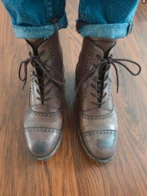 Leder Boots Zara