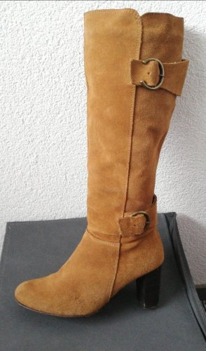 Cut Out Booties brown