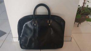 Leder Businesstasche schwarz