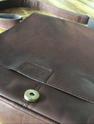 Bolso business marrón-coñac