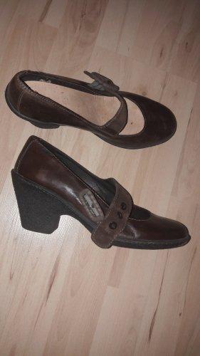 Leder Camper Ansatz Schuhe Damen