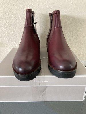 Tamaris Chelsea Boots bordeaux