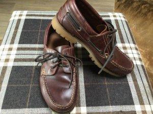 Bugatti Sailing Shoes brown leather