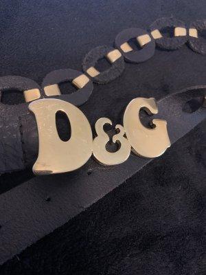 Leder Damengürtel D&G
