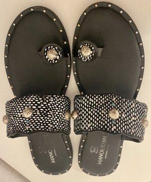 Manoukian Flip flop sandalen veelkleurig