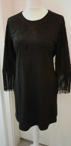 Leder-Fransenkleid Zara