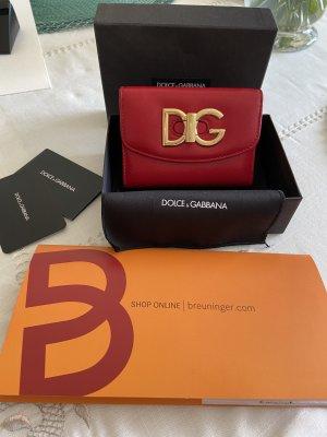 Dolce & Gabbana Portemonnee donkerrood