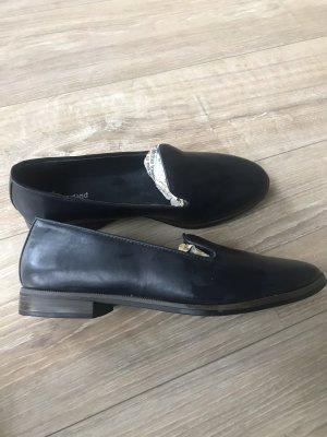 Graceland Heel Pantolettes dark blue