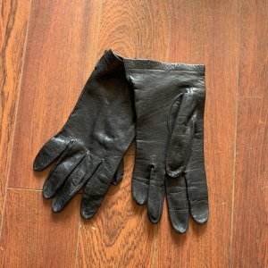 Leather Gloves black leather