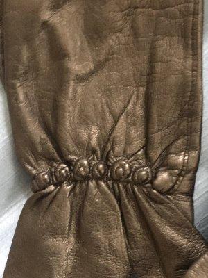 Leder Handschuhe Designer neu schwarz