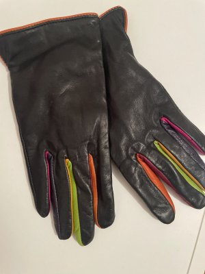 Kein Leren handschoenen zwart