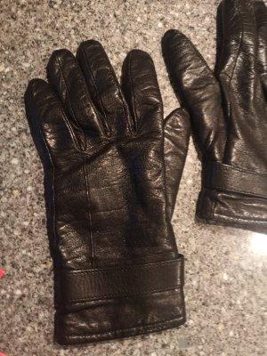 keine Leather Gloves black