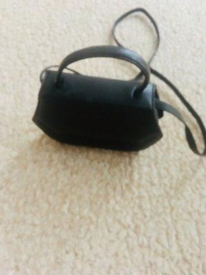 Leder Handtasche braun