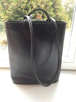 Leder Handtasche / Shoppingbag