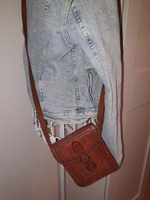 Leder Handtasche Vintage